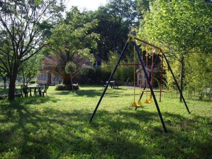 Jardín seguro para los niños