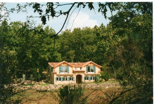 casa rural en el campo