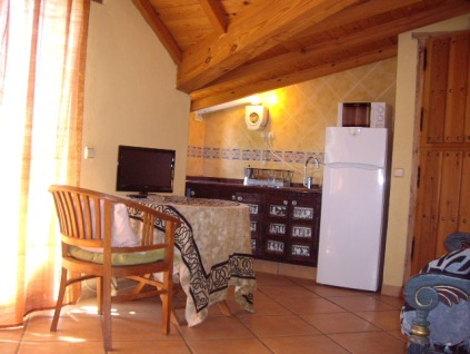 Apartamentos rurales con cocina