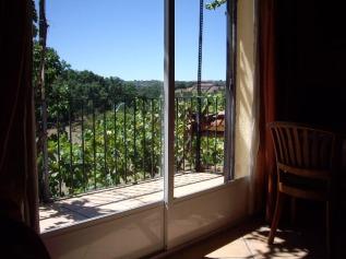 Vista de jaraiz de la Vera desde el apartamento rural