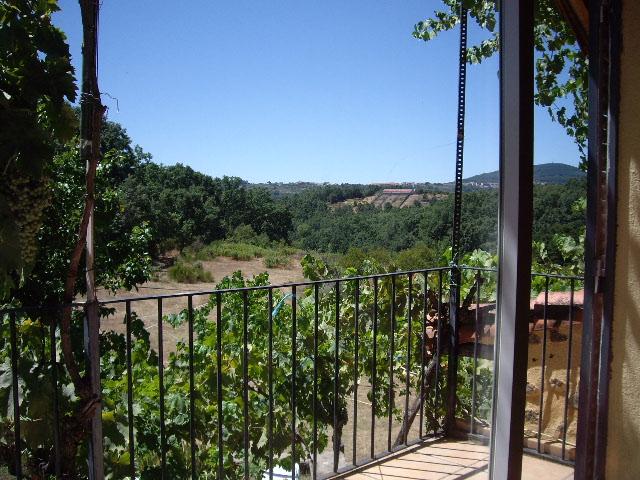 Vista desde el balcón del nº 2 al Este