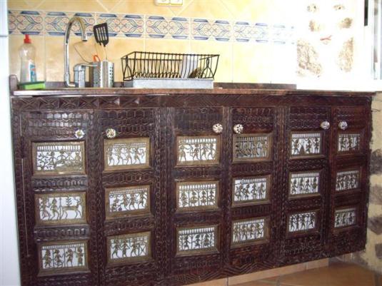 Muebles de cocina hechos en La India