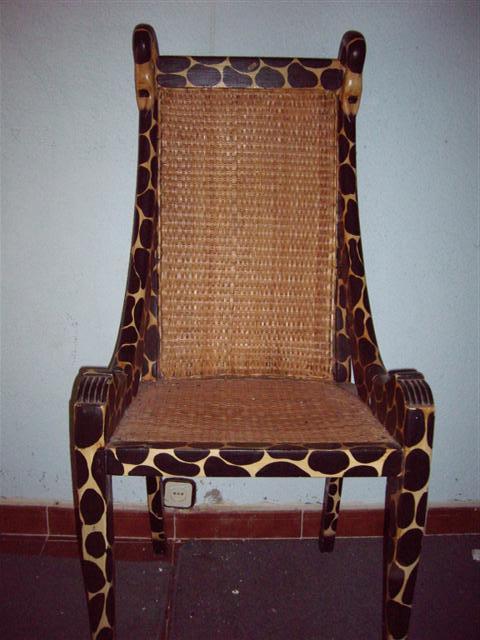 trono africano