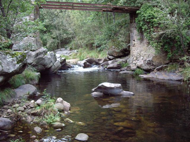 Zona de baño en Garganta Pedro Chate