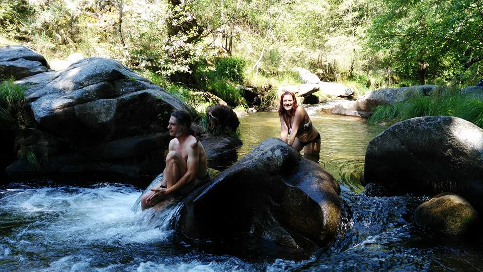 Zona de ba o arroyoriquejo en la vera de c ceres - Casas rurales en el jerte con piscina ...